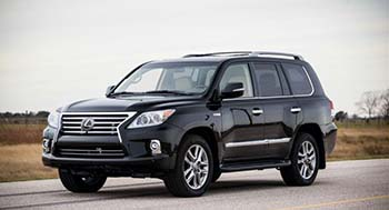 Lexus LX570 by Hennessey 7