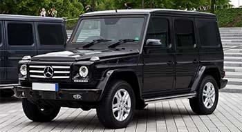 Mercedes Gelandewagenb 300